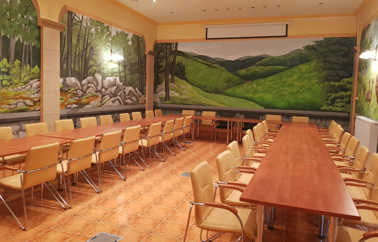Ezüstfenyő hotel, konferencia helyszín